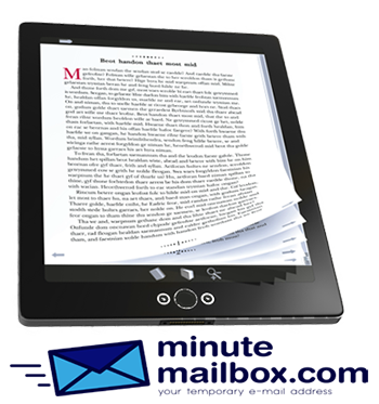 Avoid spam while downloading ebooks.